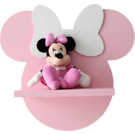 Bebenis Minnie Mouse Çoçuk Odası Raf