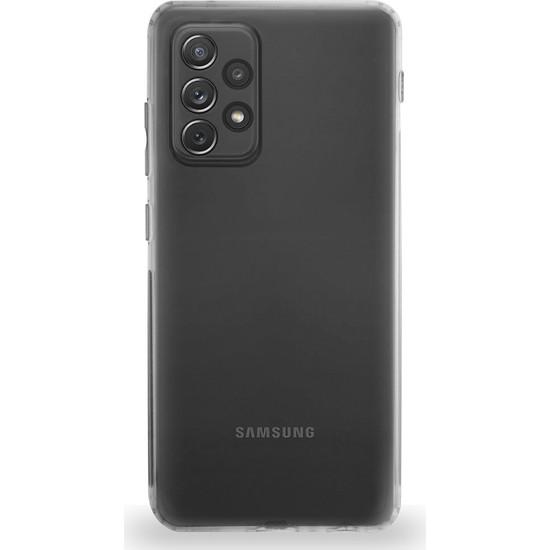 Kzy Samsung Galaxy A52 Tıpalı Kamera Korumalı Şeffaf Premier Kılıf