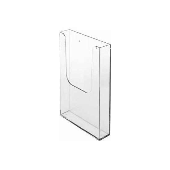 Snapper Duvar Tipi A5 Broşürlük 15X21 cm 5'li Paket Reklam Ilan Tutucu Broşürlük
