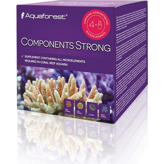 Aqua Forest Components Strong 4 x 75 ml