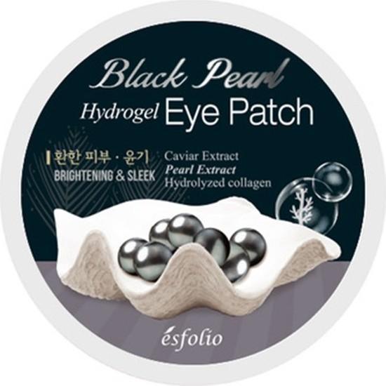 Esfolio Siyah Inci Özlü Göz Altı Bantı 90 gr Esfpatch-4