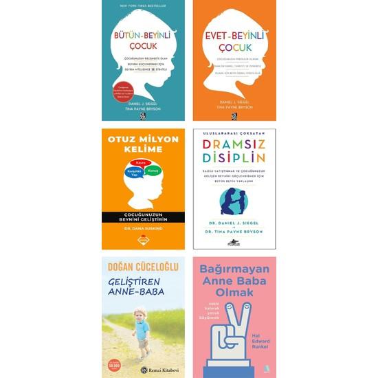 Otuz Milyon Kelime + Dramsız Disiplin + Bağırmayan Anne Baba Olmak + Geliştiren Anne Baba + Bütün Beyinli Çocuk + Evet Beyinli Çocuk / Çocuk Eğitimi 6 Kitap Set Ekitap İndir | PDF | ePub | Mobi
