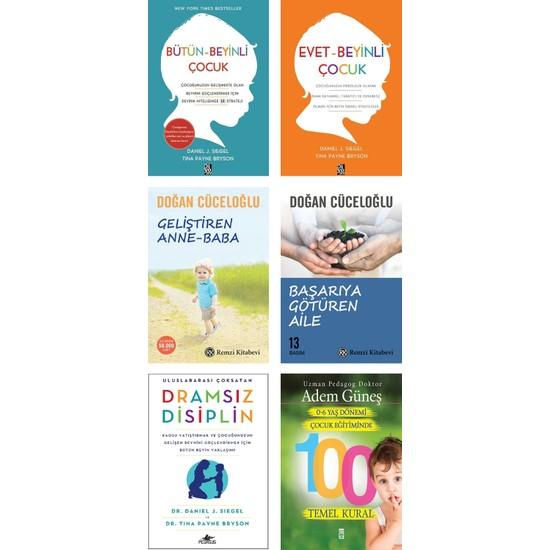 Geliştiren Anne Baba + Başarıya Götüren Aile / Doğan Cüceloğlu + Dramsız Disiplin + Bütün Beyinli Çocuk + Evet Beyinli Çocuk / Daniel Siegel + 0-6 Yaş Dönemi Çocuk Eğitiminde 100 Temel Kural - 6 Kitap Ekitap İndir | PDF | ePub | Mobi