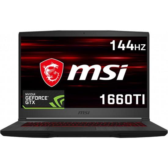 """MSI Thin GF65837 9SD Intel Core i7 9750H 8GB 512GB SSD GTX 1660Ti Windows 10 Home 15.6"""" FHD Taşınabilir Bilgisayar"""