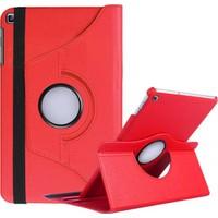 Caseart Samsung Galaxy Tab S T800 Dönebilen Stantlı Tablet Kılıfı - Kırmızı