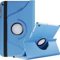 Caseart Samsung Galaxy Tab S6 Lite P610 Dönebilen Stantlı Tablet Kılıfı - Mavi