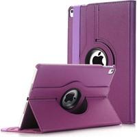 Caseart Apple iPad 2 Dönebilen Stantlı Tablet Kılıfı - Mor