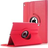 Caseart Apple iPad 10.2 Dönebilen Stantlı Tablet Kılıfı - Kırmızı
