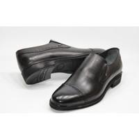 Berenni deri Poliüretan Taban Maskaratlı Zımbalı Model Klasik Erkek Ayakkabı