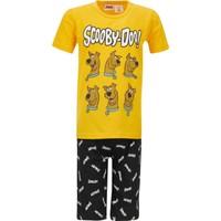 DeFacto Erkek Çocuk Scooby Doo Lisanslı Kısa Kol Pijama Takımı