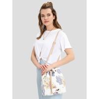 Pierre Cardin Kadın Çanta Beyaz Çiçekli 05PO16K1169-CI BY
