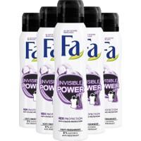 Fa Invisible Power Kadın Deodorant 150ML X5