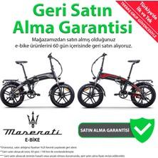 Maserati RD5 E-Bike Katlanabilir Lityum Akülü Elektrikli Bisiklet