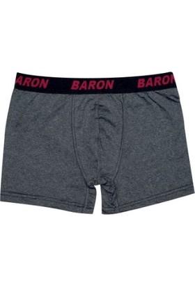 Baron 6 Lı Paket Erkek Penye Likralı Pamuklu Boxer