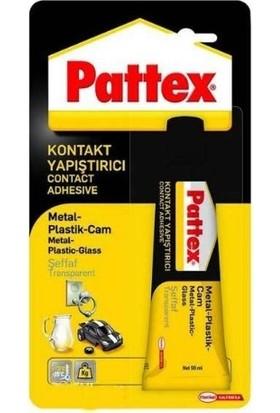 Pattex Metal Plastik Cam Yapıştırıcı Şeffaf 50 gr Tüp