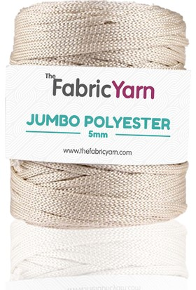 The Fabric Yarn Parlak Ekru Jumbo Polyester Ip