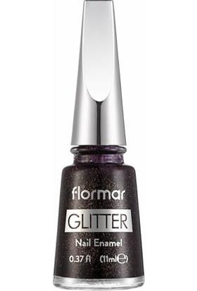 Flormar Oje - Glitter Nail Enamel L21 Bright Coral