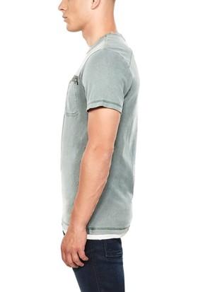 G-Star Bisiklet Yaka T-Shirt
