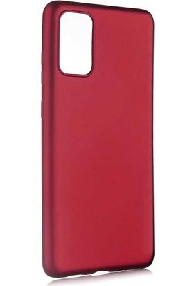 Nezih Case Samsung S20 Plus Uyumlu Soft Tasarım Yumuşak Silikon Kılıf Mürdüm