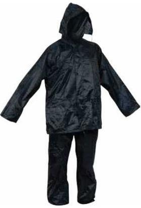 Avcı Market Siyah Takım Yağmurluk