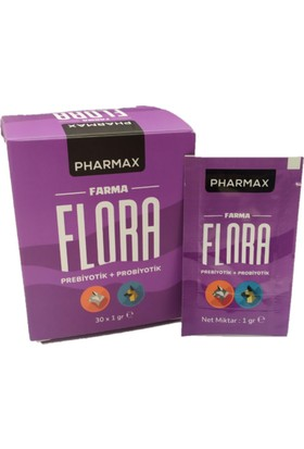 Pharmax Farma Flora Prebiyotik+Probiyotik 1gr x 30 Adet