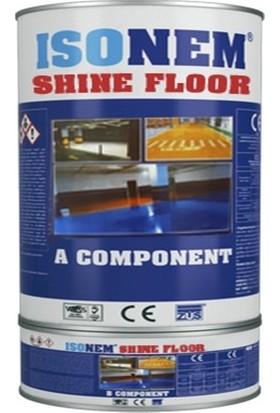 Isonem Shine Floor Parlak Veya Mat Renkli Zemin Kaplama 4,5 kg Set