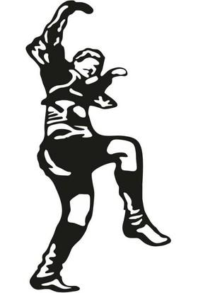 SüslenOto Oynayan Efe Çıkartması Siyah 17 cm x 11 cm 800901192