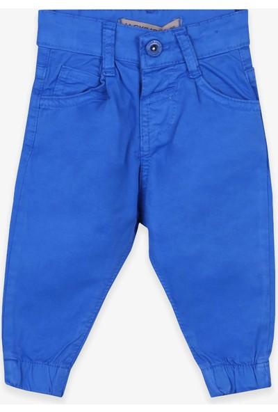 Jack Lions Erkek Çocuk Gabardin Pantolon Basic Saks Mavisi (1-4 Yaş)
