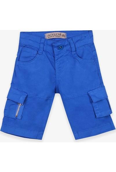 Jack Lions Erkek Çocuk Gabardin Kapri Basic Saks Mavisi (1-4 Yaş)
