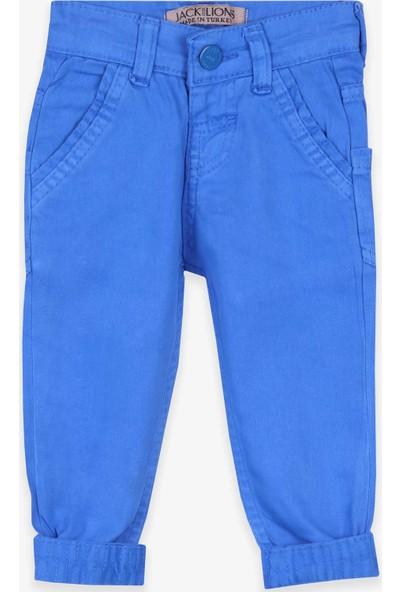 Jack Lions Erkek Çocuk Kot Pantolon Saks Mavisi (1-4 Yaş)