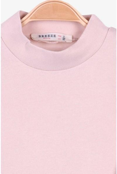 Breeze Kız Çocuk Uzun Kollu Tişört Basic Krem (2-10 Yaş)
