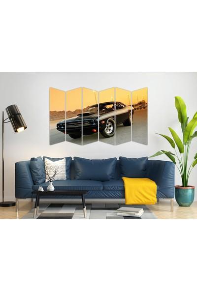 Renkselart Klasik Araba Mdf TABLO-1153 Model-B