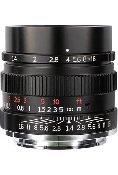 7ARTISANS 35MM F/1.4 Ff Lens (Sony E)