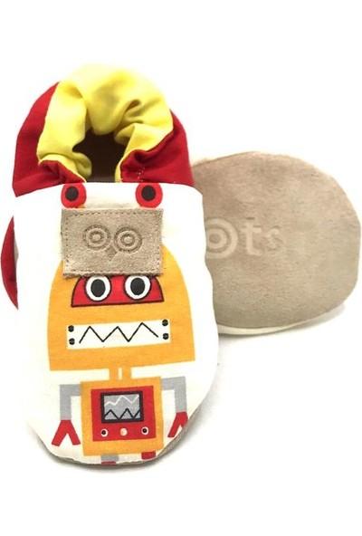 Moots Sarı Kırmızı Robotlar Moots Play Makosen