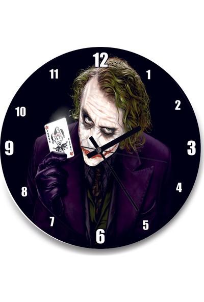 Cakatablo Joker Heath Ledger Duvar Saati