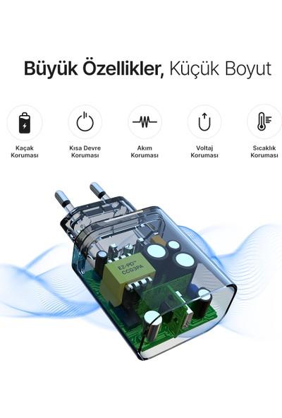Dniago 20W Usb-C Güç Adaptörü Hızlı Şarj Uyumlu