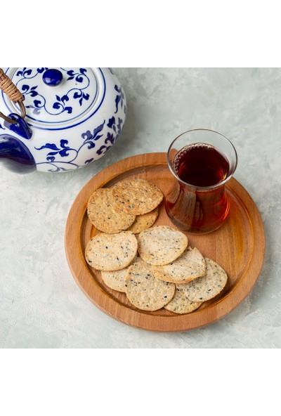 Kukumav Susamlı Çörek Otlu Kraker 2'li Paket