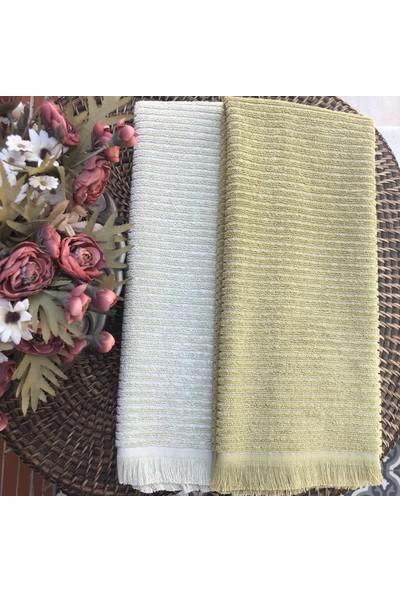 Dost Tekstil Lesi 2'li Mutfak Havlu Seti