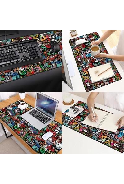 Gamingpadci 70 x 30 cm Paint Dikişli Mouse Pad