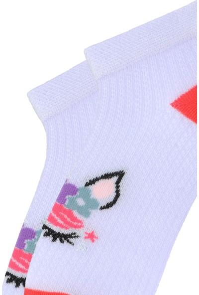 Mem Socks 6'lı Unicorn Desen Çocuk Patik Çorap