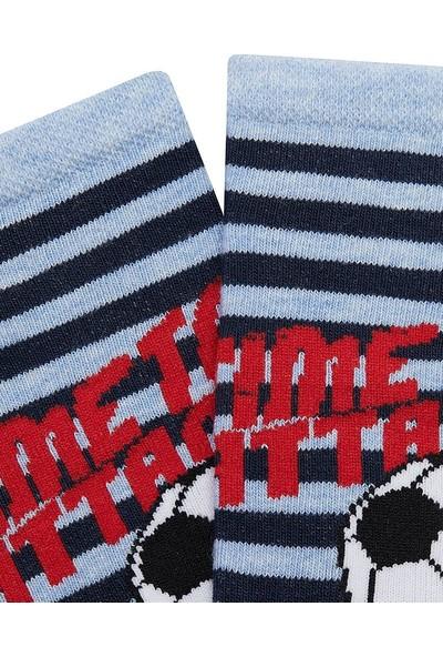 Mem Socks 6'lı Top Desenli Çocuk Patik Çorap