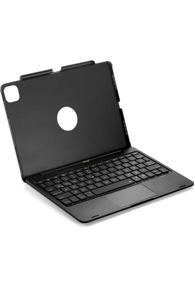 "Nout iPad Air 4.nesil 10,9"" Için Klavyeli Touchpad Kılıf Türkçe Q Rgb Klavye Trackpad Mouse"