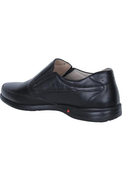 Balayk 1093 Siyah Mat Deri Günlük Erkek Ayakkabı