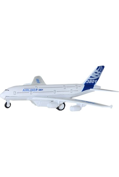 Can-Em Oyuncak 8869-3 Metal Çek Bırak Uçak
