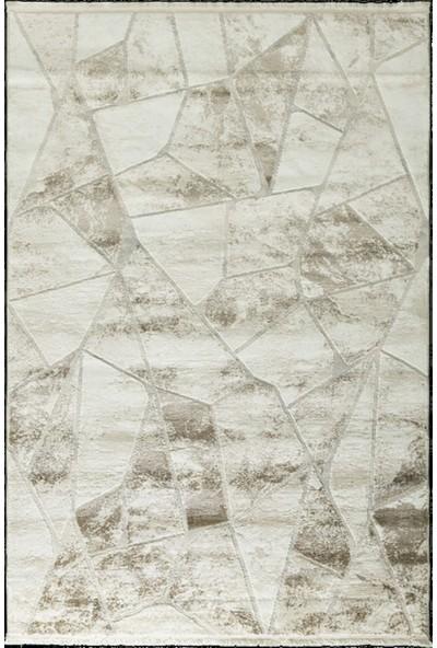 Tuğra Halı Mabeyn 12912 Krem Bej Tuğra Halı Modern Desen Halı