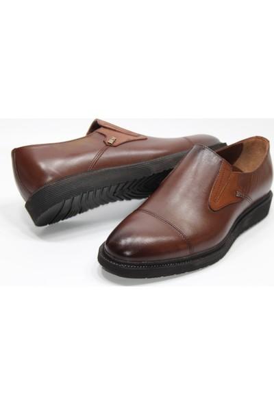 Berenni Hakikideri Poliüretan Düz Taban Maskaratlı Model Klasik Erkek Ayakkabı