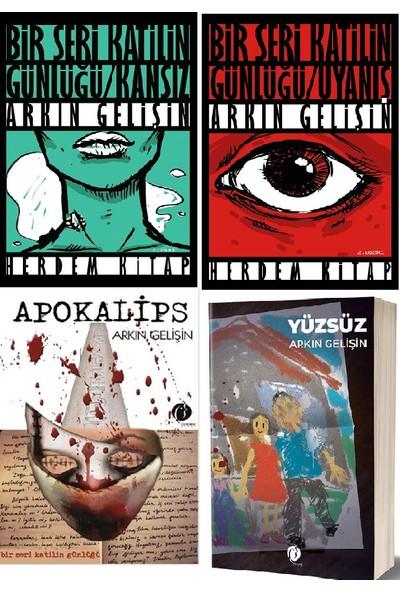 Uyanış - Kansız - Apokalips - Yüzsüz Polisiye Kitap Seti 4 Kitap Takım - Arkın Gelişin
