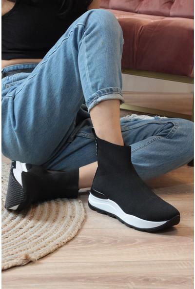 Park Moda Modensi Kadın Triko Sneaker