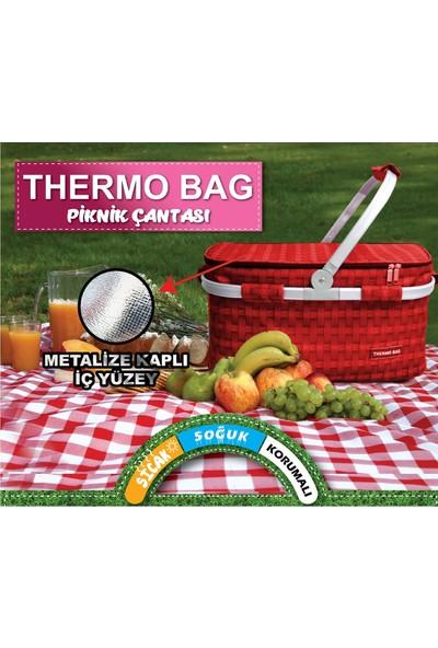 Sihirli Dolap Thermo Bag Termoslu Piknik Sepeti - Piknik Çantası