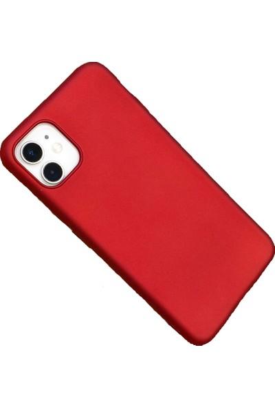 Mopal Xiaomi Redmi Note 9s/pro Rubber Yumuşak Silikon Kılıf Kırmızı